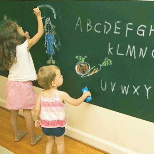 Wallpaper DIY Green Board 200cm Length Waterproof Doodle Wall Paper Decal Removable Sticker