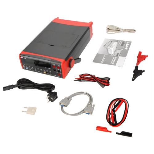 UNI-T UT805A 200000 Counts True RMS Auto Range Bench Type Digital Multimeter DMM Volt Amp Ohm Cap. HZ Meter w/USB & RS232