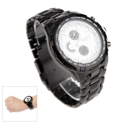 44be4658e74 CURREN 8023 moda negócios homens relógio resistente à água inox relógio de  quartzo analógico