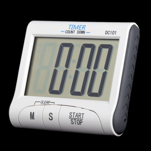 LCD Digital Cooking Kitchen Countdown Timer Count Down Alarm Clock ...