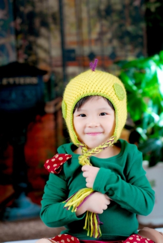 Bel Cartoon animali cappello maglia inverno caldo Cap dinosauro per bambini per bambini