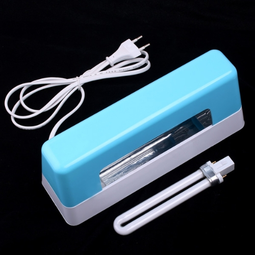 9W Nail Art UV Lamp DIY Gel Curing Dryer Light Blue