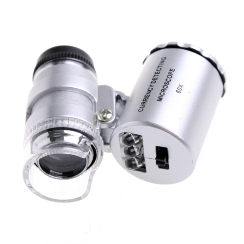 60X Magnifier LED UV