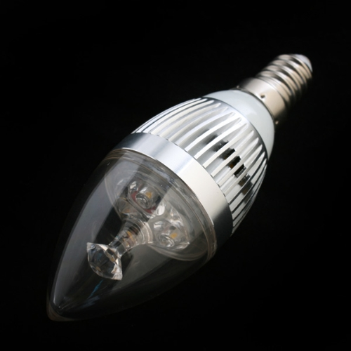 LED-Glühlampe E14 85-265V warmweiss
