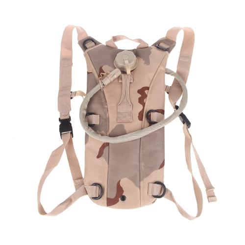 2,5 L TPU Hydration System Blase Wasser Tasche Rucksack Tan Camouflage