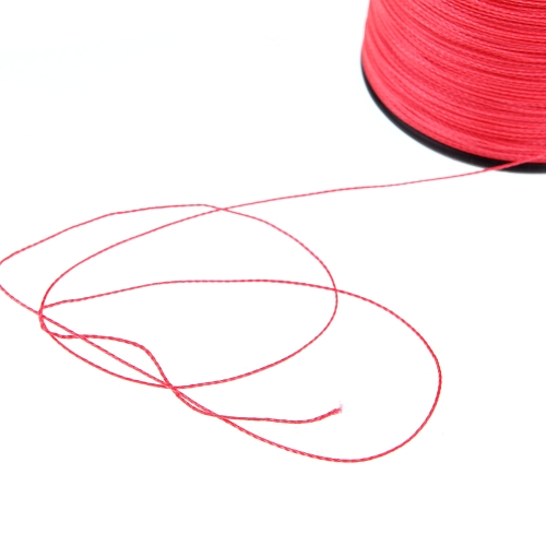 500M 100LB 0.5mm Super Strong Braided Fishing Line 4 Strands Red Image