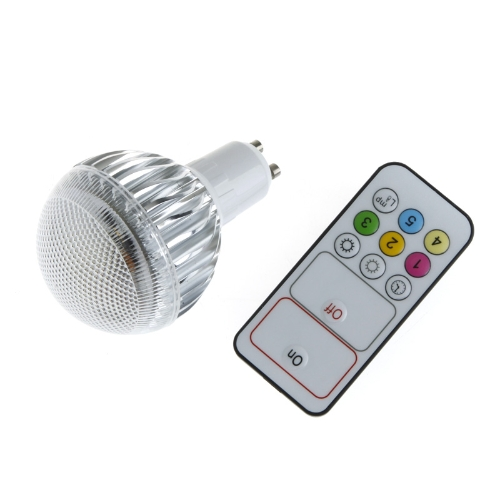Luminosité réglable de LED 9W GU10 ampoule