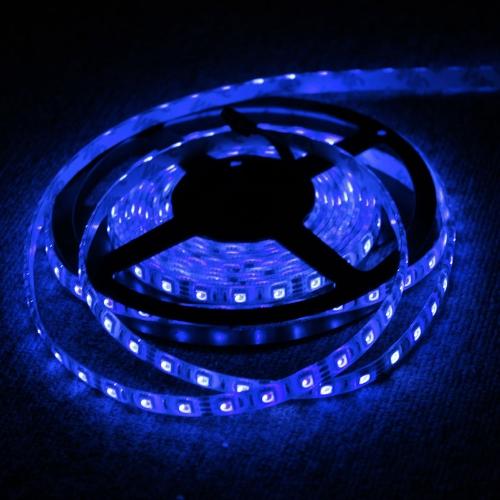TOMTOP / 5M RGB 5050 SMD LED Strip Light 300 LED, controlador de IR + fuente de alimentación