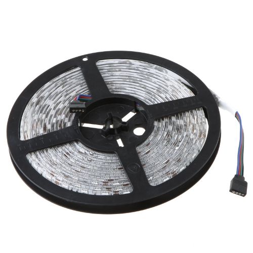 5M RGB 5050 SMD LED Strip Light 300 LED + IR-Controller + Netzteil