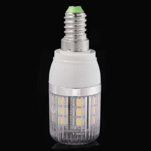 Bombilla de luz LED maíz blanco 27 5050 SMD 4W E14 110V