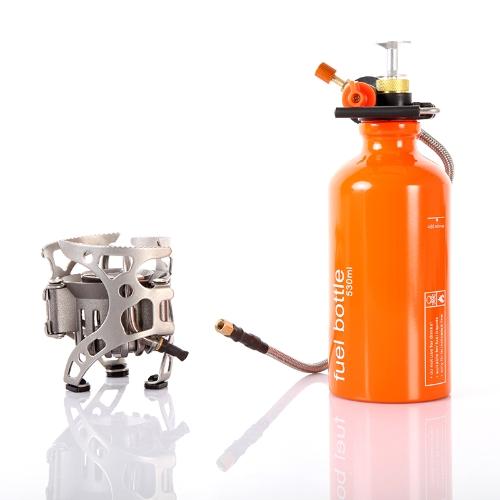 Открытый кемпинг газовая плита портативный полиформное топливо