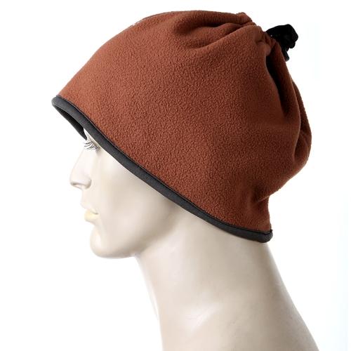 Polideportiva al aire libre caliente vellones bufanda del sombrero