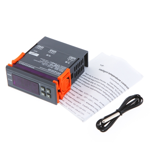200-240V Digital Temperature Controller Thermocouple -40℃ to 120℃ with Sensor