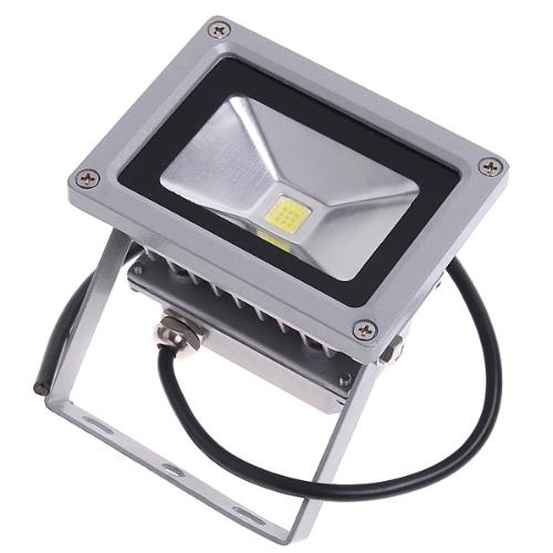 10W LED Flood Light Waterproof Floodlight Landscape Lighting Lamp 85-265V White