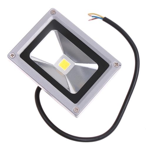10W светодиодный наводнений легкий водонепроницаемый прожектор пейзаж освещение лампа 85-265В теплый белый