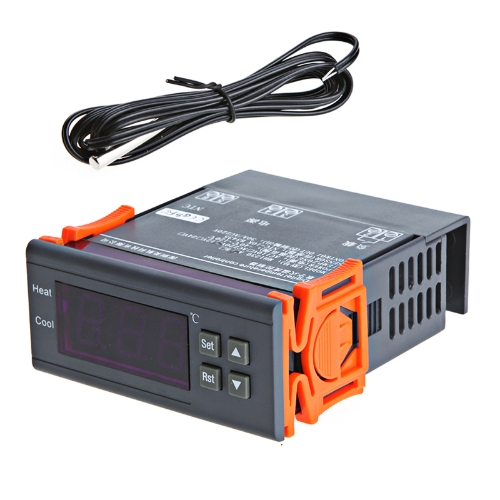 30A 220V Digital Temperature Controller Thermocouple -40℃ to 120℃ with Sensor