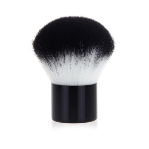Brocha Profesional Fundación Face Powder Blusher del maquillaje cosmético del cepillo Negro