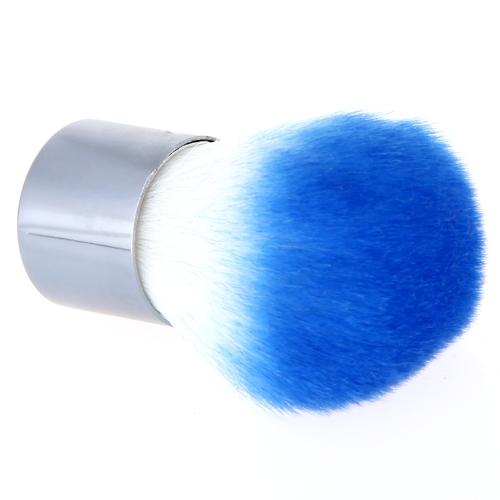 Профессиональные румяна кистью Foundation пудра Косметический макияж кисти голубой