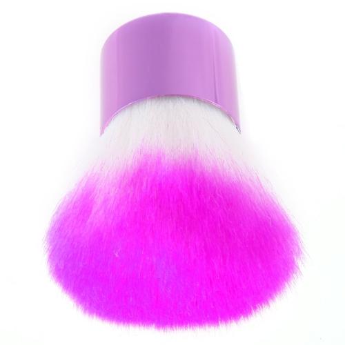 Professionelle Makeup Brusch Rougepinsel Stiftung Gesichtspuder Kosmetik Pinsel Lila