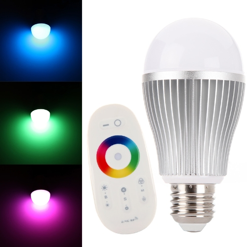 AC86 265V E27 6W RGB LED Bulb Light Lamp Color Change With 2.4G Wireless