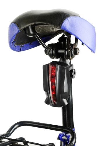 Owimin inteligente da bicicleta LED Laser lanterna traseira bicicleta traseira luz com 5 LED + Laser 2 vigas logotipo versão de projeção