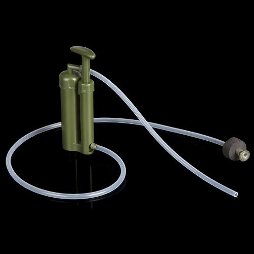 Facile portatile ceramica 0.1 Micron 2000 L soldato acqua pura filtro purificatore pulitore per sopravvivenza Outdoor trekking campeggio emergenza