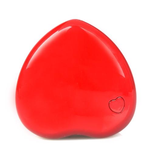 Mini Heart-shape LED Lamp Light Purple-light 3W Red