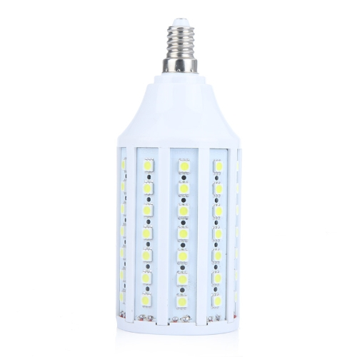 86 5050 SMD LED Corn żarówki światła lampy E14 1550Lm 360 ° 13W 220V Biały Energooszczędny