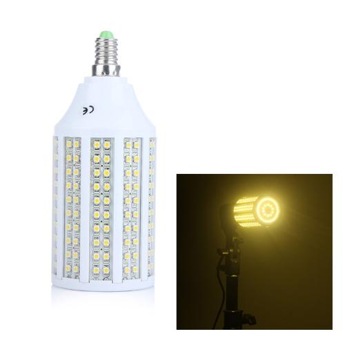 240 3528 SMD LED Corn Bulb Light Lamp E14 1200Lm 360° 12W 220V Warm White Energy-Saving