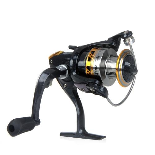 Cuscinetti a sfera 9BB manico pieghevole intercambiabile sinistra/destra pesca mulinello LJ2000 5.2: 1