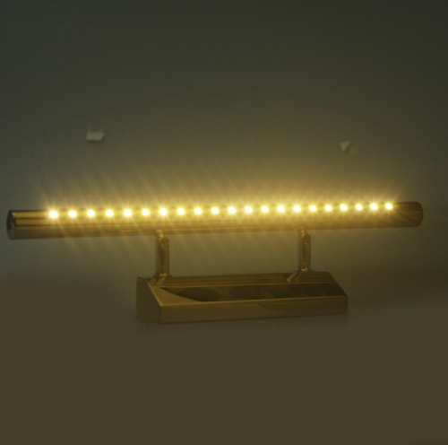 5050 SMD 21-LED 5W Mirror-front Lighting Wall Lamp Stainless Steel Bathroom 85-220V Warm White