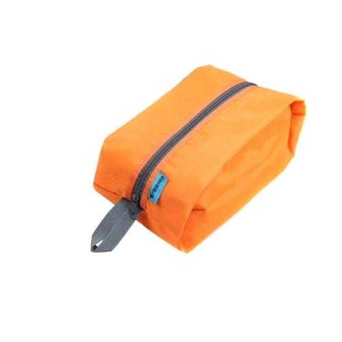Водонепроницаемый Портативный Путешествия Tote Туалетные Принадлежности Прачечная Обуви Мешок Для Хранения Сумки-Оранжевый