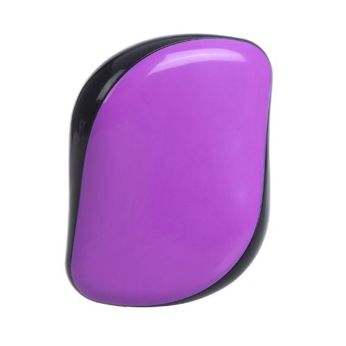 DD Magic Comb Professional Hair Stylish Hairbrush Tangle Removing Purple