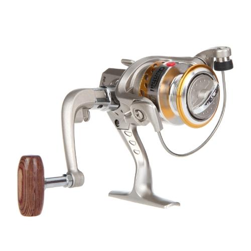 6BB rolamentos punho dobrável esquerda/direita permutável pesca Spinning Reel SG2000A 5.1:1