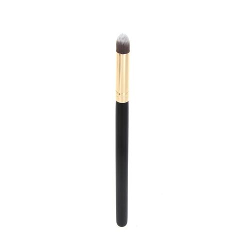 Profesional Pincel Cosmético Maquillaje Cara / ojo Herramienta para Colorete Base Maquillaje Pequeño Cónico de Madera de Aluminio +