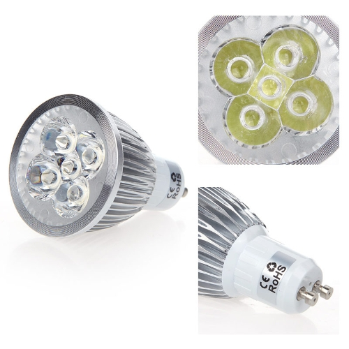 Dimmbare LED-Lampe Strahler Lampe Birne weiss 5W GU10 185-265V Energie-Einsparung