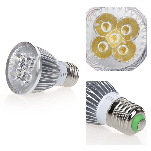 Затемняемый светодиодные прожектор лампа лампа 5W теплый белый E27 185-265V энергии-экономия