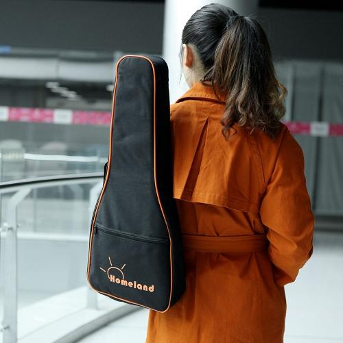 "600D Wodoodporny 23 ""24"" Ukelele Ukulele Gig Bag Nylonowy plecak Regulowane ramiączka Ramię Pocket 5mm Bawełniane wyściełane do Ukelele Concert"