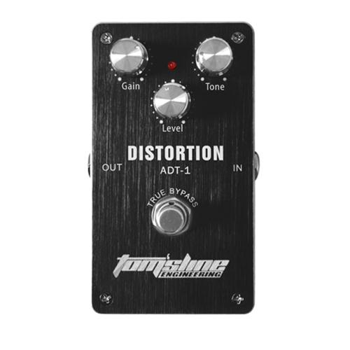 Aroma ADT-1 distorsione chitarra elettrica effetto pedale alluminio lega alloggiamento True Bypass