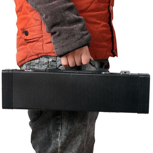 Gig портативный мешок Box кожа для западных Концерт Флейта с пряжкой пены хлопка мягкие