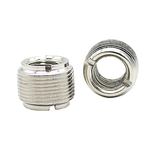 2pcs Microphone Mic Screw Nut Thread Adaptor 3/8