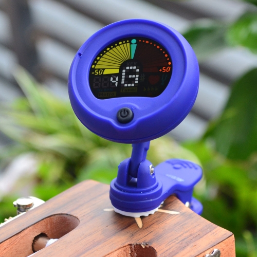 ENO EMT-300 Clip-on 2-in-1 Electric Tuner Metronome Color Screen for Guitar Chromatic Bass Violin Ukulele Rotatable Universal Multifunction Portable