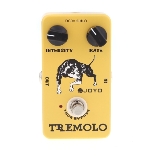 Joyo JF-09 Tremolo Guitar Effect Pedal True Bypass