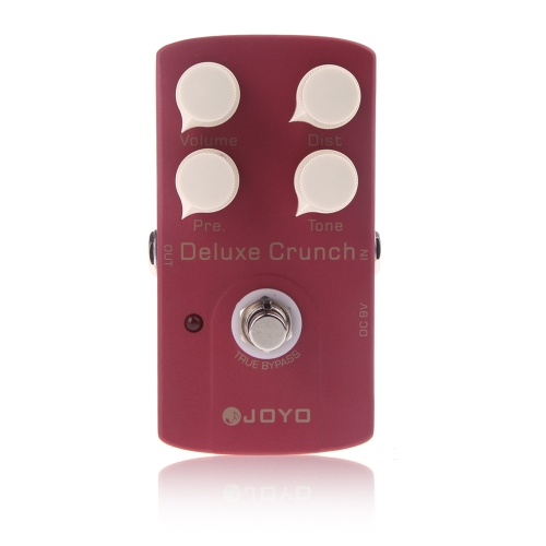 JF-39 Deluxe Crunch Electric Guitar Effect Pedal Distortion Pedal True Bypass Design