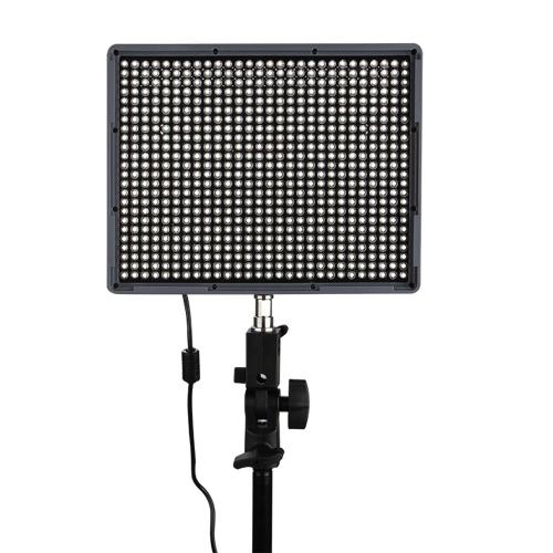 Video Aputure Amaran HR672W LED CRI95 + 672 Pannello LED Light Regolazione Luminosità con telecomando senza fili