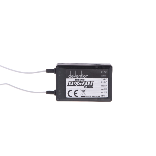 Walkera RX701 2.4Ghz Receiver 7ch per Walkera DEVO 6/7 / 8s / 12s trasmettitore Part (7CH Receiver, Walkera RX701 reciver, Walkera DEVO)