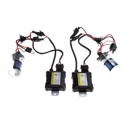 H4-2 H4-L 35W 6000K 9-16V Xenon HID Conversion Kit Set Replacement Bi-xenon Slim Ballast Headlamps Foglight Bulbs Lights
