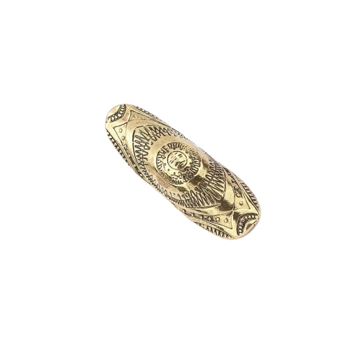 Fashion Charming Vintage Antique Brass Punk Style Joint Armor Knuckle Ring