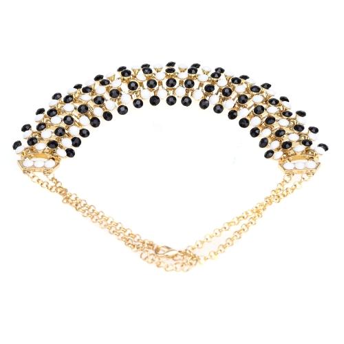 Estilo bohemio elegante colgante clavícula cadena gargantilla collar Collar accesorio de la joyería para mujeres niñas