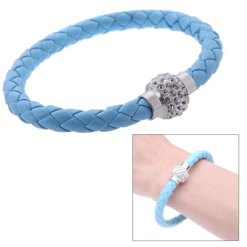 Image of Mode Schmuck Zubehör magnetische Schnalle Strass Kristall Armband Armreif Armband